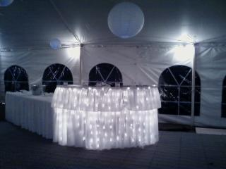 Round Wood Banquet Tables Rental, OH