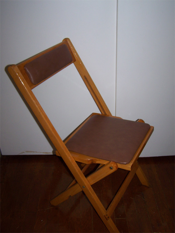 Brown Padded Wooden Chairs