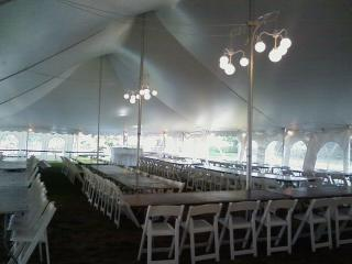 Lighted Pole Tent